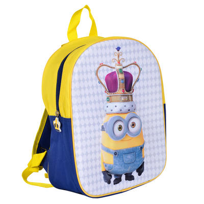 Kids Official Minion Descpicable Me 3D Junior Backpack
