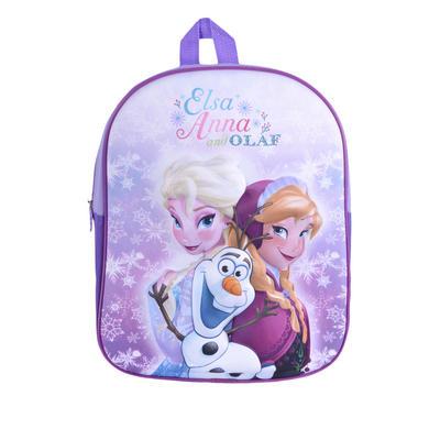 Kids Disney Frozen Backpack Princess Elsa Anna Olaf Girls 3D Bag