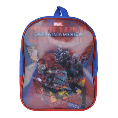 Marvel Captain America Civil War Backpack 3D Kids Bag Junior