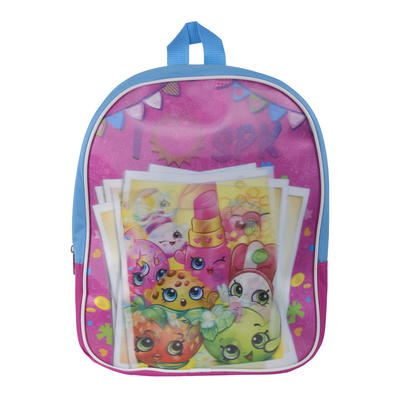 Shopkins 3D Panel Backpack Girls Kids Junior Ruckack Bag