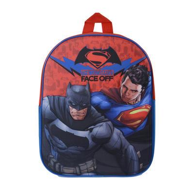 DC Comics Batman v Superman 3D Backpack Kids Junior Bag