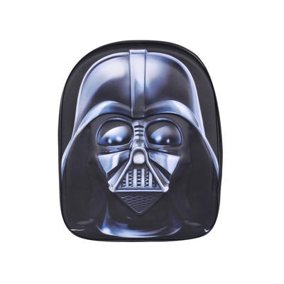 Star Wars 3D Kids Backpack Darth Vader Black Schoolbag Junior
