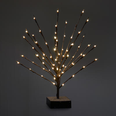 60cm Twig Tree Warm White LED Lights Christmas Decoration
