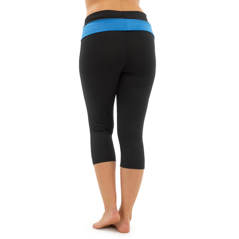 Ladies 3/4 Length Yoga Pants Fitness Sports Running