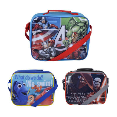 Disney Kids Lunch Bag School Picnic Carry Coolbag Lunchbox