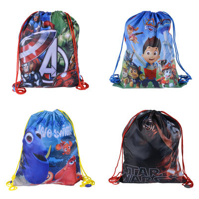 Disney Gym Bag PE Sports Drawstring Kids Childrens School