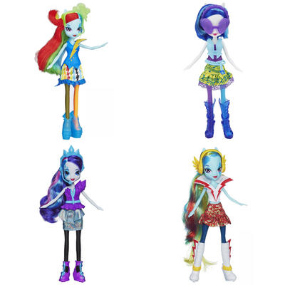 My Little Pony Rainbow Rocks Doll Equestria Girls Popstar Toy