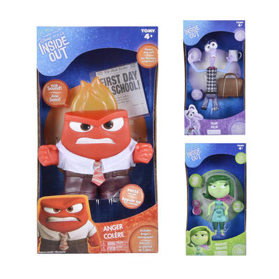 Disney Pixar Inside Out Figure With Sound Battery Operated Toy