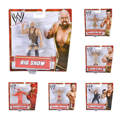 WWE Small Action Figure Ages 6+ Collectible Toy Wrestler Mattel