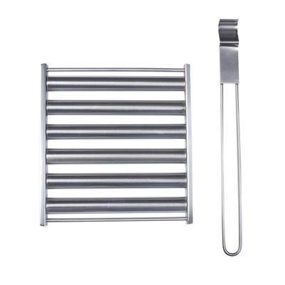 Azuma Barbecue Sausage Roller Turner Stainless Steel BBQ Tool
