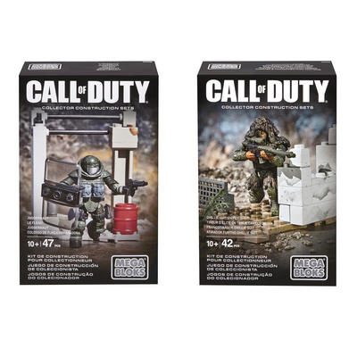 Mega Bloks Call of Duty Collector Set Series Toy COD Age 10+