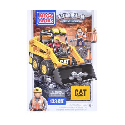 Mega Bloks CAT World Builders Skid Steer Loader Set 133pcs 5+