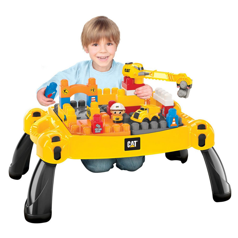 Construction Site Toys : Mega bloks cat ultimate construction site table pc toy set