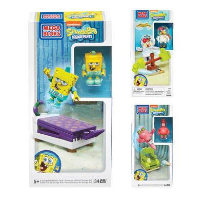 Mega Bloks Spongebob Squarepants Wacky Set Figure Kids Toy 5+