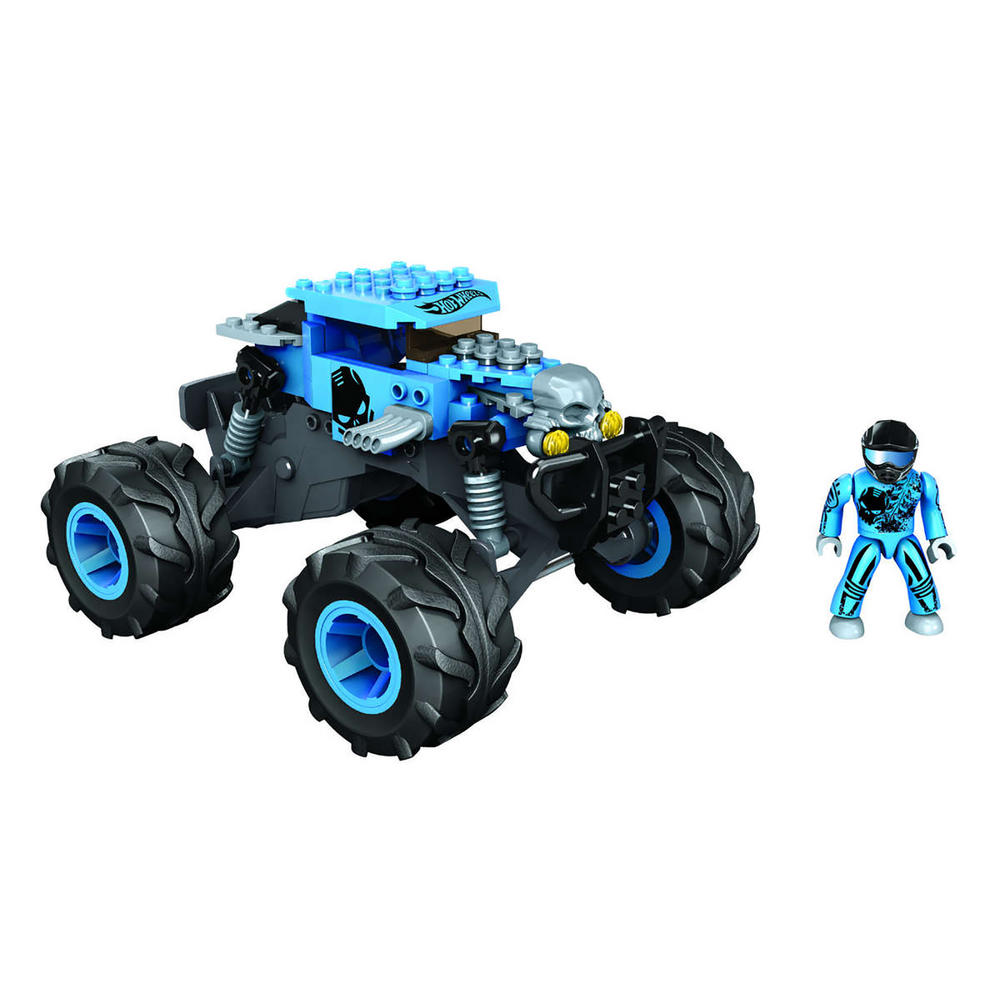 mega bloks hot wheels monster truck racer car figures toy 5. Black Bedroom Furniture Sets. Home Design Ideas