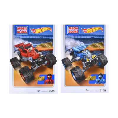 Mega Bloks Hot Wheels Monster Truck Racer Car Figures Toy 5+
