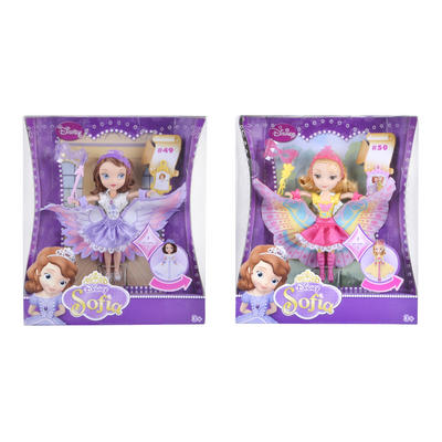 Sofia the First Fashion Doll Costume Surprise Dress Wings Toy