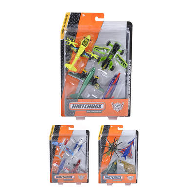 Matchbox MBX Skybusters Diecast Aircraft 4pc Set Age 3+