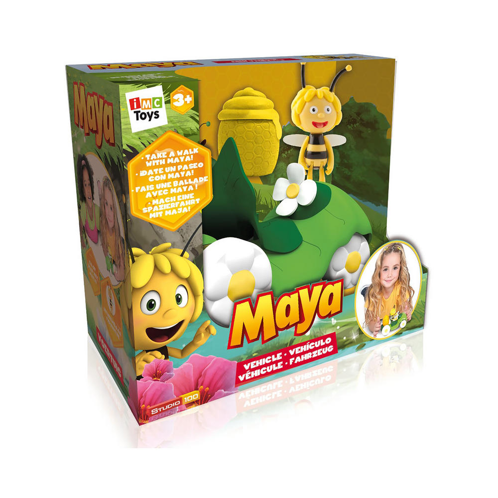 Toys For Age 3 : Maya go for a walk green leaf vehicle figure toy age