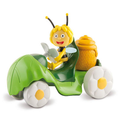 Maya Go For A Walk Green Leaf Vehicle & Figure Toy Age 3+