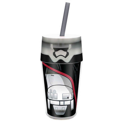 Star Wars Insulated Tumbler Straw Double Walled Stormtrooper