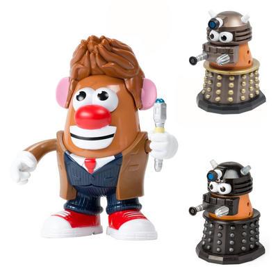Playskool Dr Who Mr Potato Head BBC Figure Official Toy