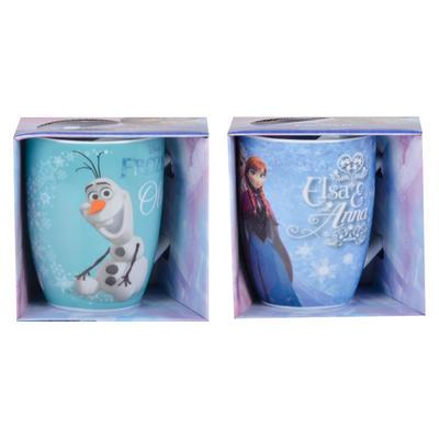 Zak Disney Frozen Boxed Barrel Mug Novelty Tea Coffee Cup
