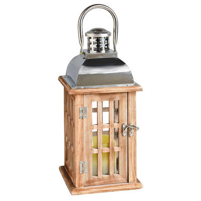 The Longstone Lantern Home Garden LED Flicker Candle Cole & Bright