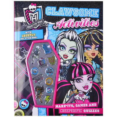 Monster High Clawsome Activities Book with Ghostly Gel Stick-ons