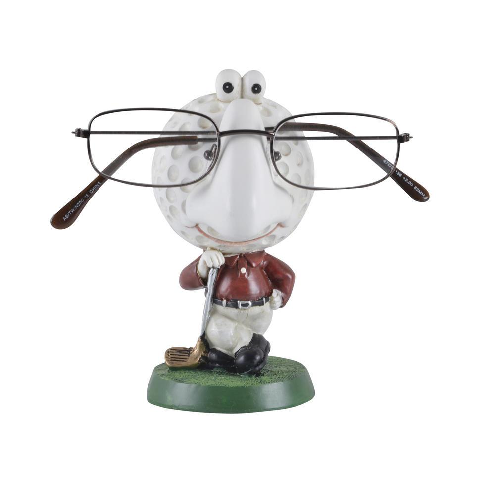 novelty reading glasses holder comic figure gift ornament