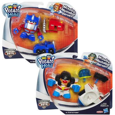 Mr Potato Head Transformers Mash Playskool Starscream/Optimus Prime