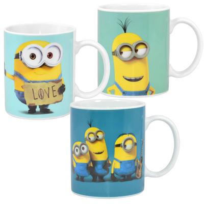 Minions Movie Ceramic Mug Novelty Gift Fun 11oz Cup Bob Kevin Group