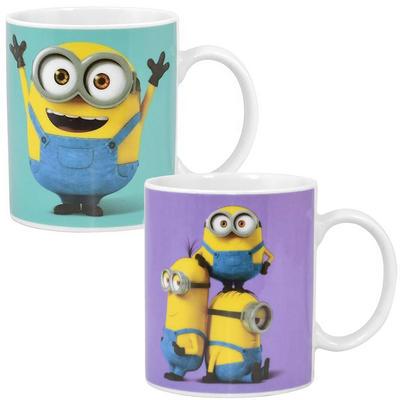 Minions Movie Ceramic Mug Gift Box Novelty Fun Cup Bob Stuart Kevin