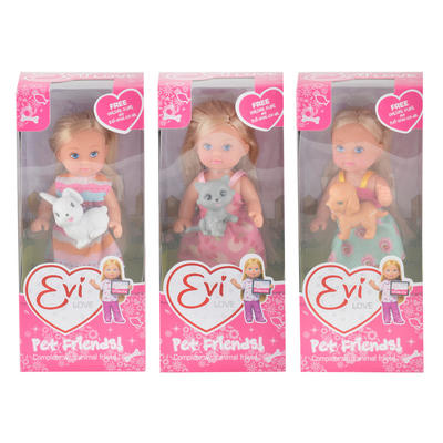 Evi Love Pet Friends Girls Toy Dolls Animals Assortment