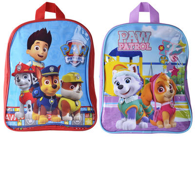 Kids PAW Patrol Character Backpack School Bag Boys Girls Chase Skye