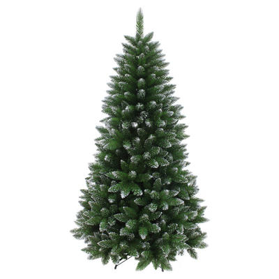 Silver Glitter Tipped Artificial Christmas Tree Indoor 6ft 7ft