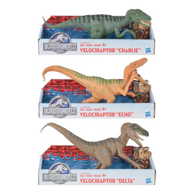 Jurassic World Velociraptor Collectible Action Figures Dinosaurs