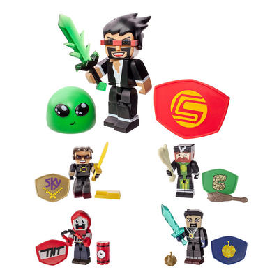 Tube Heroes Miniature Action Figure With Accessories Set Age 8+