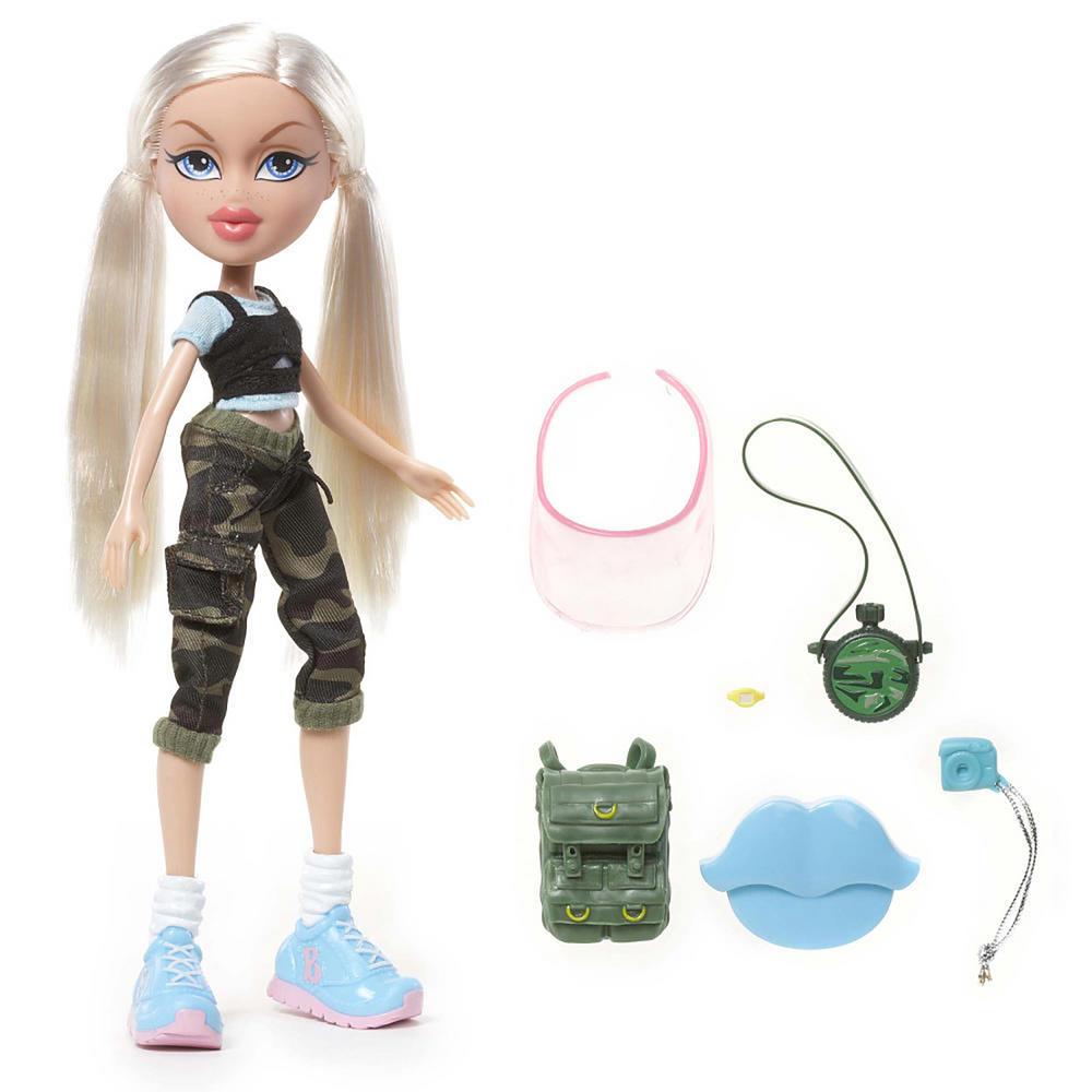 fierce fitness bratz doll cloe jade yasmin sport play