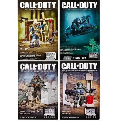 Mega Bloks Call Of Duty Tactical Unit Juggernaut Brutus Seal Sniper