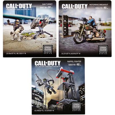 Mega Bloks Call of Duty Assault Strike Sam Bike Rocket Horse Drone