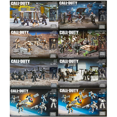 Mega Bloks Call of Duty Troops Covert Atlas Desert Jungle Seal Sniper
