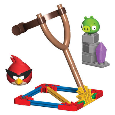 Angry Birds Space Building Set - Super Red Bird V Small Minion Pig