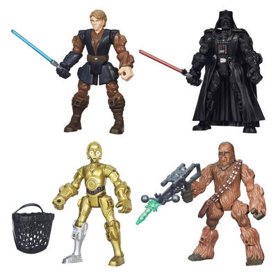Star Wars Hero Mashers Action Figures Pack Collectible Toys Age 4+