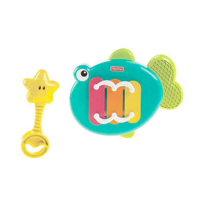 Fisher Price Musical Xylo Fish Playset Baby Sensory Toy Age 12m+
