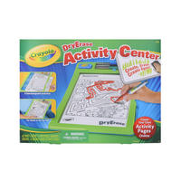 Crayola Dry Erase Activity Centre Creative Kids Toy Pens Age 4+