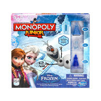 Monopoly Junior Frozen Game Anna Elsa Olaf 2-3 Players Age 5+