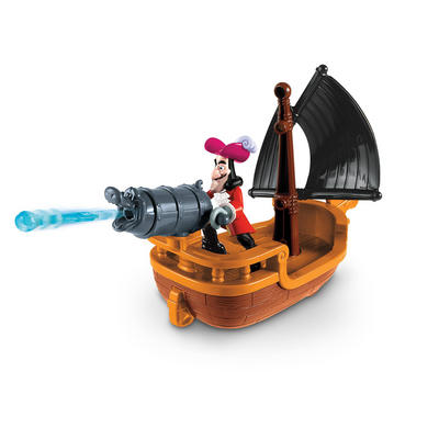 Fisher-Price Jake And The Never Land Pirates Hooks Battle Boat 3+