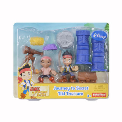 Fisher-Price Jake And The Never Land Pirates Tiki Treaure Playset