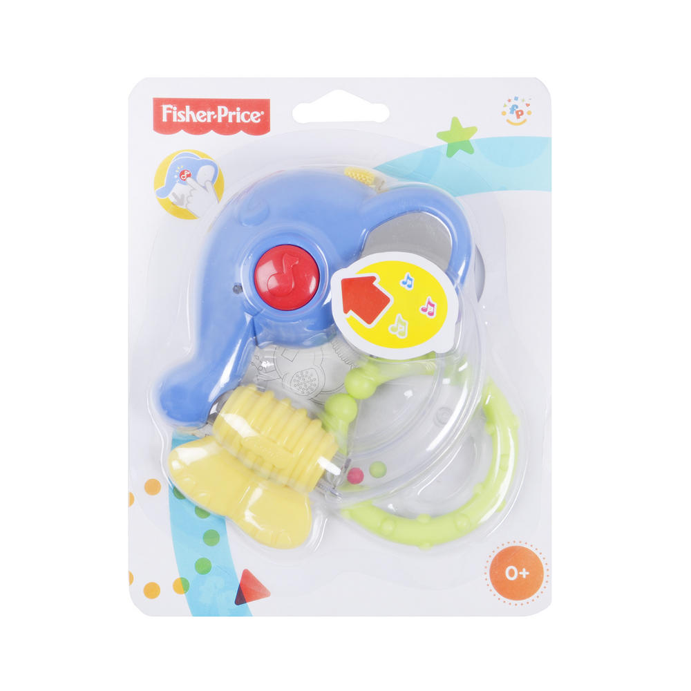 Musical Toys Age 7 : Fisher price link a doos musical friend teether baby toy